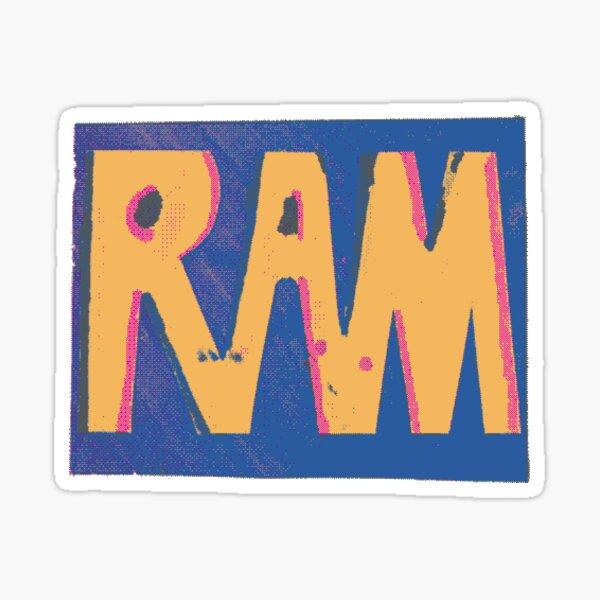 RAM pixel Sticker