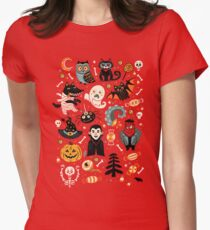 Happy Halloween Women's Fitted T-Shirt