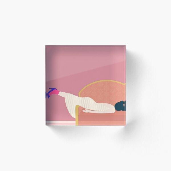 Maddies Mood Acrylic Block