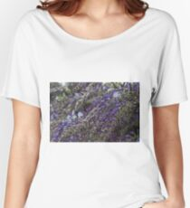 wisteria blooming Women's Relaxed Fit T-Shirt