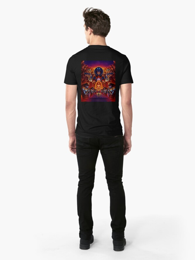 Alternate view of As above so below Slim Fit T-Shirt