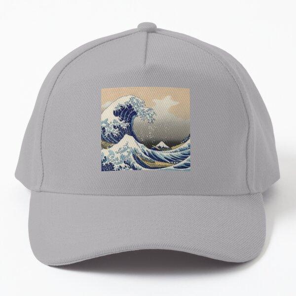 The Great Wave  off Kanagawa by japan artist Hokusai Baseball Cap