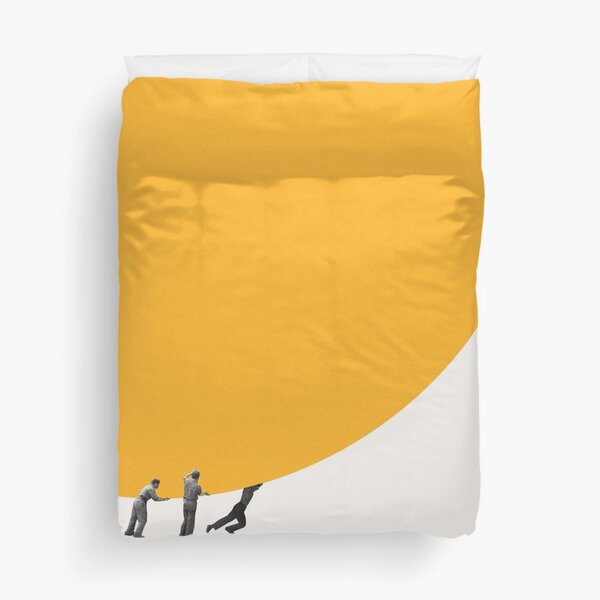 We can move the sun together Duvet Cover