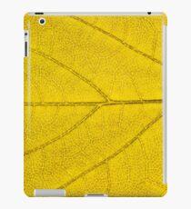Leaf abstract texture  iPad Case/Skin