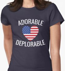 Adorable Deplorable Women's Fitted T-Shirt