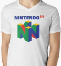 Nintendo 64 Logo  Men's V-Neck T-Shirt