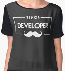 Developer Chiffon Top