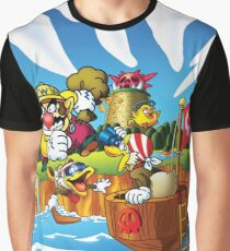 Wario - Super Mario Land 3 Graphic T-Shirt