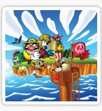 Wario - Super Mario Land 3 Sticker