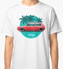 VW Golf mk1 (red) Classic T-Shirt
