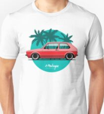 VW Golf mk1 (red) Unisex T-Shirt