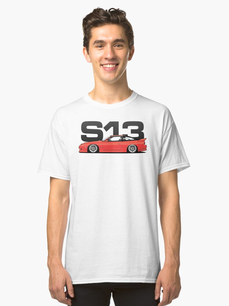 180sx Tuner - Flame Red Edition Classic T-Shirt Front