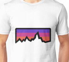 abstract mountain light Unisex T-Shirt