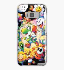 Yoshi's Island 2 - スーパーマリオ ヨッシーアイランド Samsung Galaxy Case/Skin