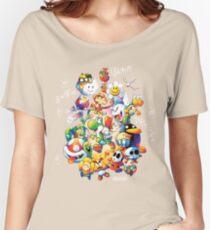 Yoshi's Island 2 - スーパーマリオ ヨッシーアイランド Women's Relaxed Fit T-Shirt
