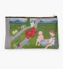 Childhood Memory Tree Studio Pouch