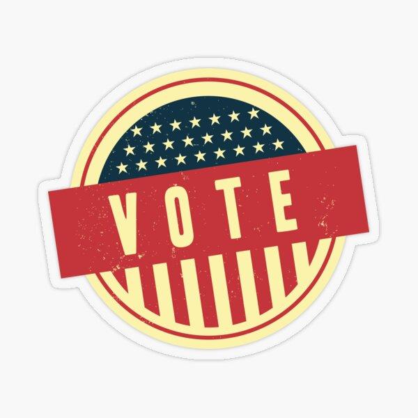 Vote Transparent Sticker