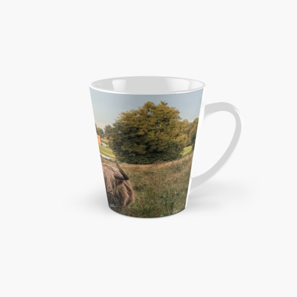 Highland Cow at Avington Park, Hampshire Tall Mug