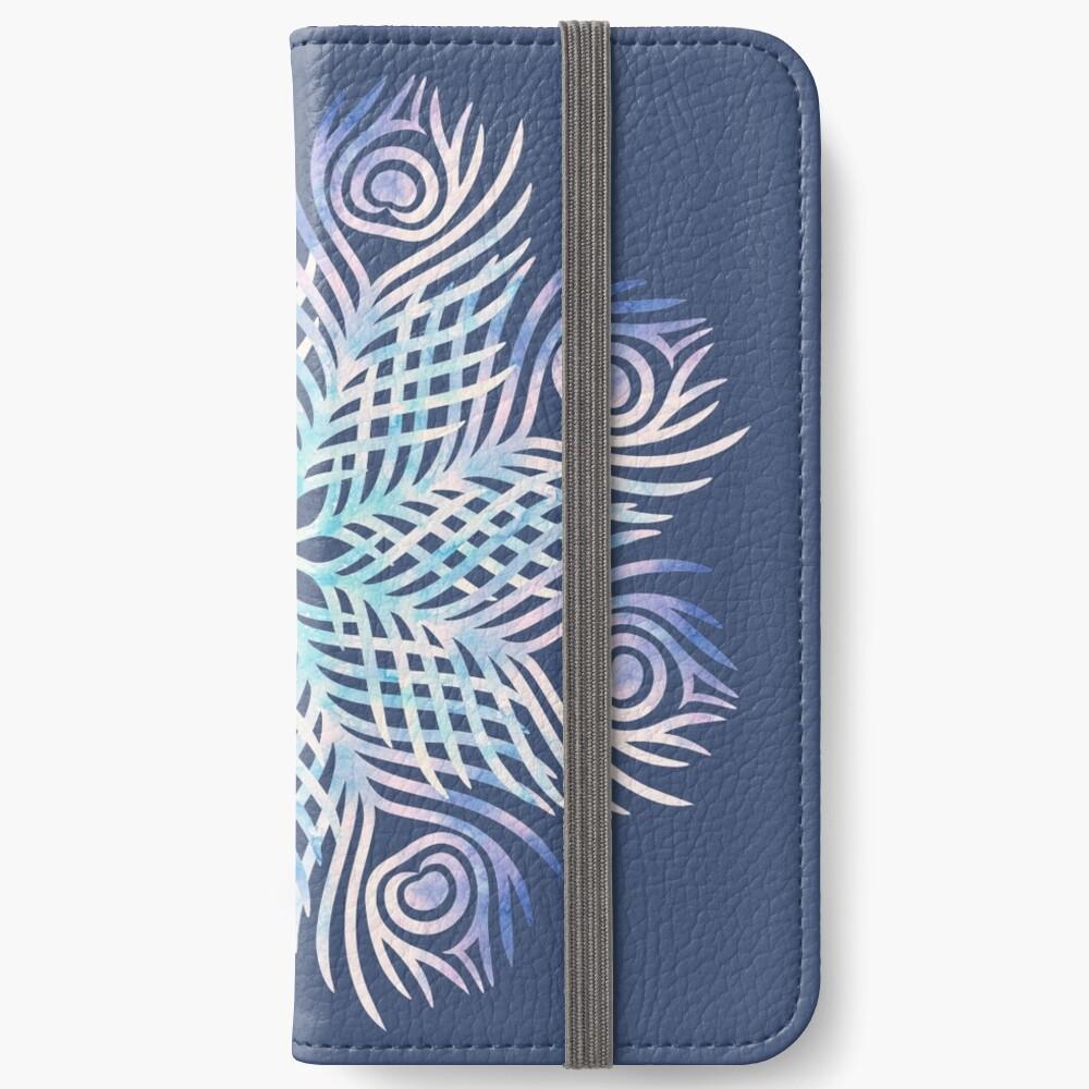 Peacock feathers / Mandala iPhone Wallet