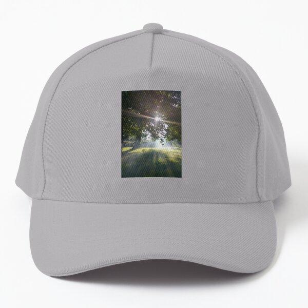 M.I. #12  ☼  Smoky Tree Sun Rays - Portrait Shot (Pearson Park) Baseball Cap