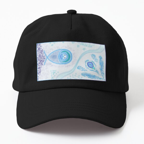 M.I. #2  ☽  Aquatic Splatter Splash Dad Hat
