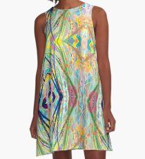 Whacky A A-Line Dress