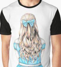 Alice in Wonderland design Graphic T-Shirt