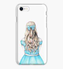 Alice in Wonderland design iPhone Case/Skin