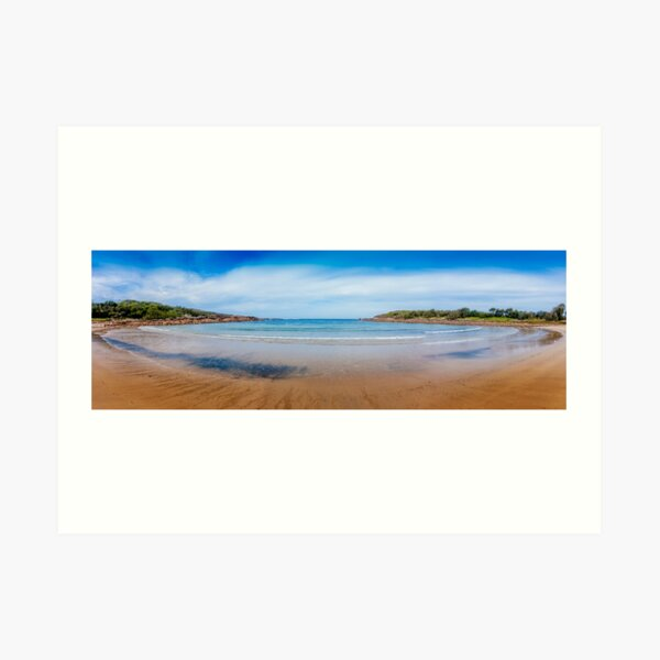 Boat Harbour, Port Stephens, New South Wales Art Print