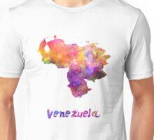 Venezuela in watercolor Unisex T-Shirt