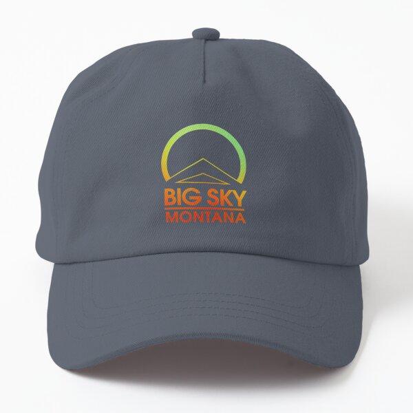 Big Sky Montana  Dad Hat