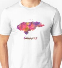 Honduras  in watercolor Unisex T-Shirt