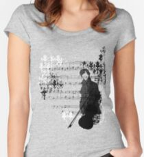 Sherlocked Melody Women's Fitted Scoop T-Shirt