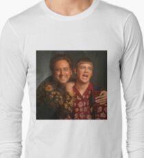 tim and eric news Long Sleeve T-Shirt