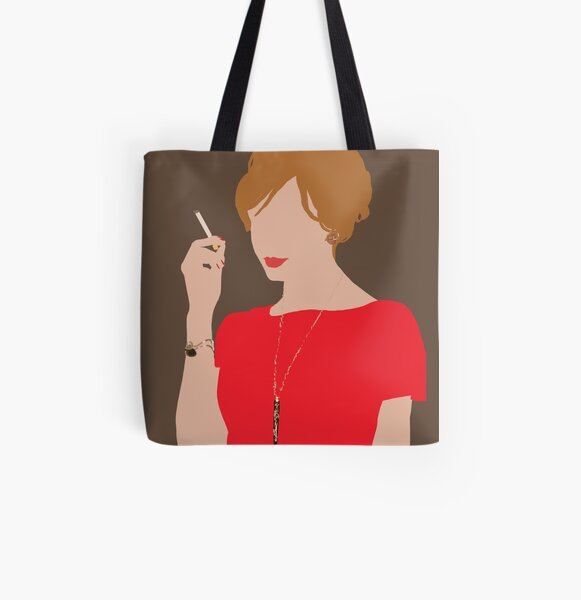 Joan Holloway All Over Print Tote Bag