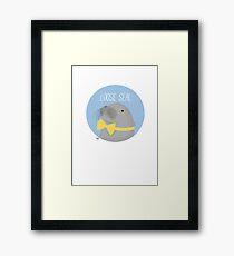 Loose Seal Framed Print