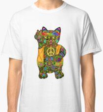 HIPPY LUCKY BLACK CAT Classic T-Shirt