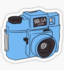 Holga 120N Sticker