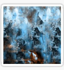 abstract blue 9,16 Sticker