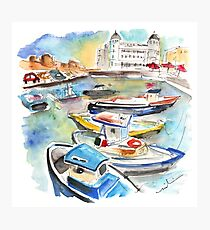 Boats In Siracusa Photographic Print