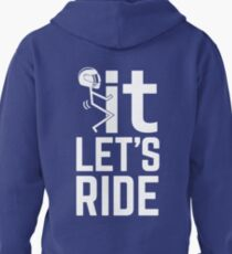 F It, Let's Ride. Awesome Biker T-shirt T-Shirt