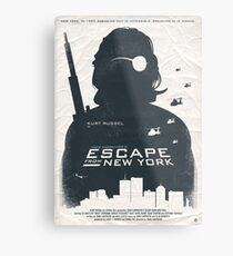 Escape From New York Metal Print
