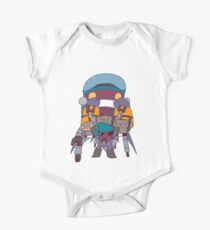 ROBOT RAMPAGE One Piece - Short Sleeve
