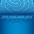 Blue on Blue Fade by Kinnally