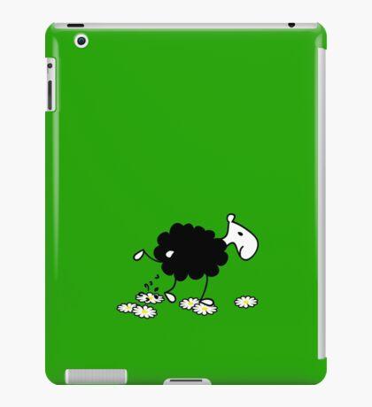 Black Sheep watering Daisies VRS2 iPad Case/Skin