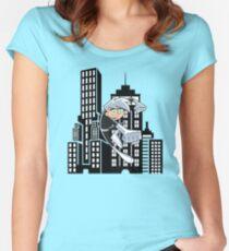 Danny Phantom  Women's Fitted Scoop T-Shirt