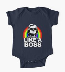 Hillary Clinton Like a Boss Rainbow Kids Clothes