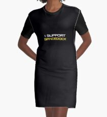 I Support Spacedock Graphic T-Shirt Dress