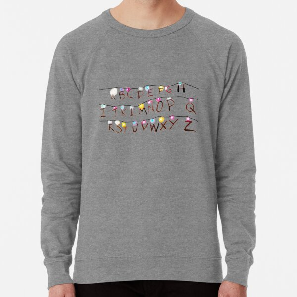 Stranger Things Ouija Leads Lightweight Sweatshirt