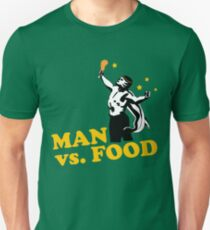 Man vs. food Unisex T-Shirt